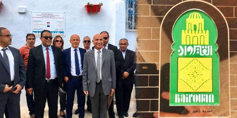 En photos : Inauguration du parcours réhabilité de la Médina de Kairouan