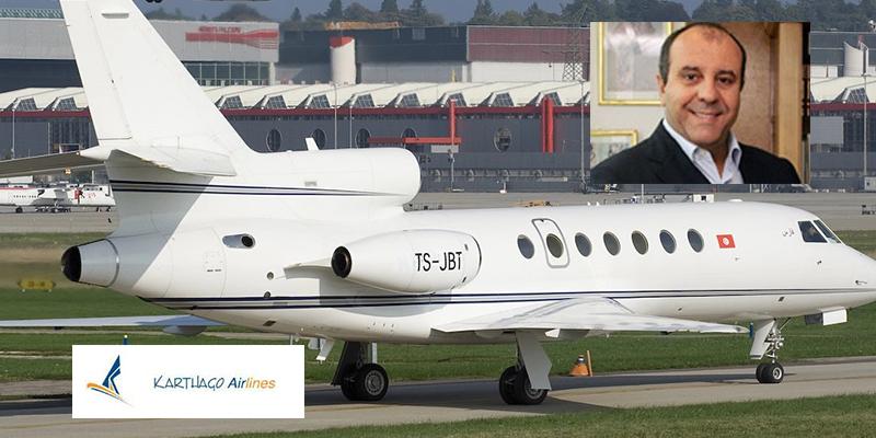 Cession de Karthago Private Jet, l'ancienne compagnie aérienne de Belhassen Trabelsi