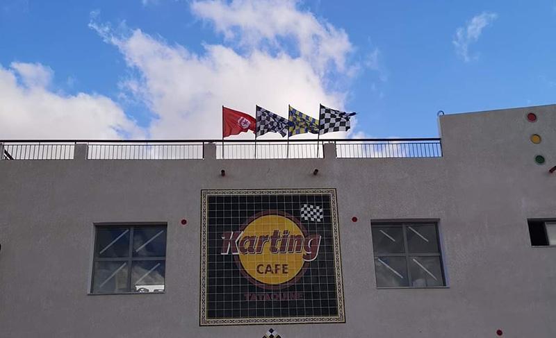 Karting Café, le premier circuit de kart outdoor à Tataouine