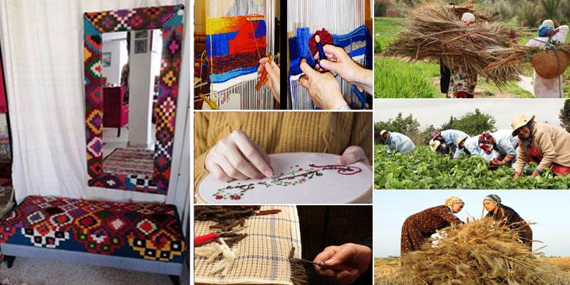 Kebili : 4 nouveaux centres de confection du Tapis, du Margoum et de la Broderie