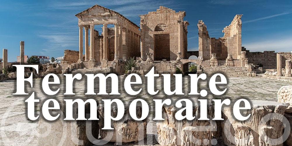 Sites archéologiques désormais fermés au Kef