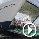 En vidéo et photos : Arrivée à l'archipel Kerkennah en Battah (Bac)