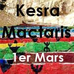 Randonnée au village berbère de KESRA et au site archéologique de MACTARIS le 1er mars 2015