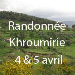 Weekend Randonnée en Khroumirie les 4 et 5 avril 2015