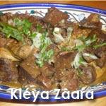 Kléya zaâra ou le plat phare du jour de l'Aïd