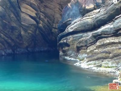 Crique Millefeuille Korbous une dernière escapade pour cet été