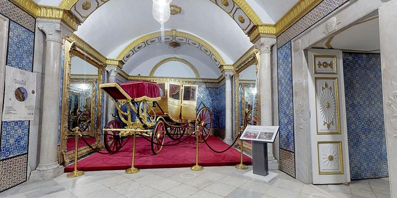 Explorez le palais Ksar Saïd en 3D