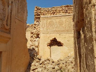 En Photos : Ce qui reste du Ksar Ben Ayed à Jerba