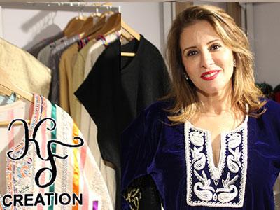En vidéo : Découvrez Kyf Création, pour des tenues qui vous orneront en tradition et en finesse