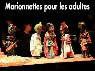 Première initiative théâtrale avec des marionnettes pour adultes