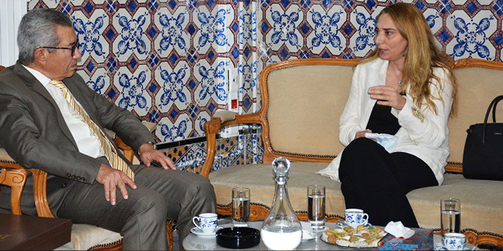 وزيرة الشؤون الثقافيّة في رحاب بيت الحكمة