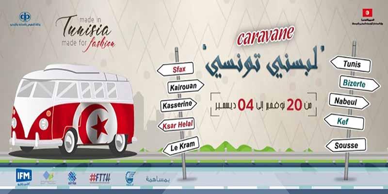 La caravane Labesni Tounsi, l'événement fashion hors du commun