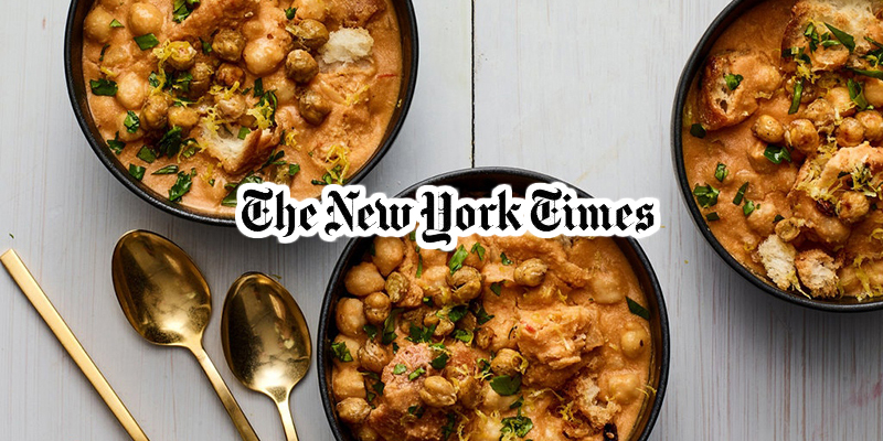 New York Times célèbre le Lablebi
