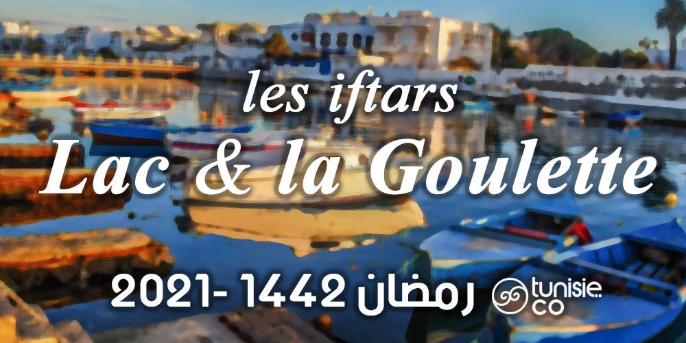 Liste des Iftars : Lac & La Goulette