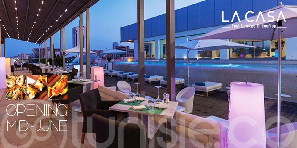 Hôtel Laico Tunis vous accueille pour les beaux jours sur ses terrasses panoramiques