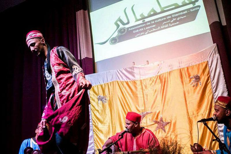 Concert de la troupe Stambali Sidi Ali Lasmar à la Fondation Maison de la Tunisie à Paris