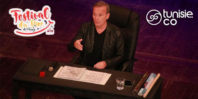 En vidéo: Laurent Baffie parle de son humour grinçant et du public tunisien