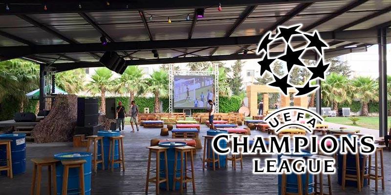 En photos : 8 endroits pour l'Iftar et la finale de la Champions League