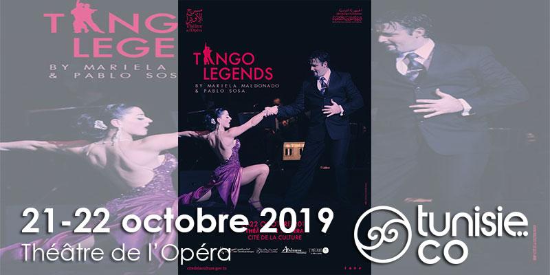 Tango Legends le 21 et le 22 octobre