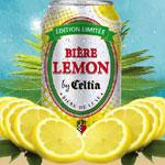 CELTIA lance LEMON, Une bière aromatisée pour l'été