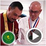 En vidéos : Les chefs Chaieb, Boujelbene et Gahbiche à l'Académie Nationale de Cuisine