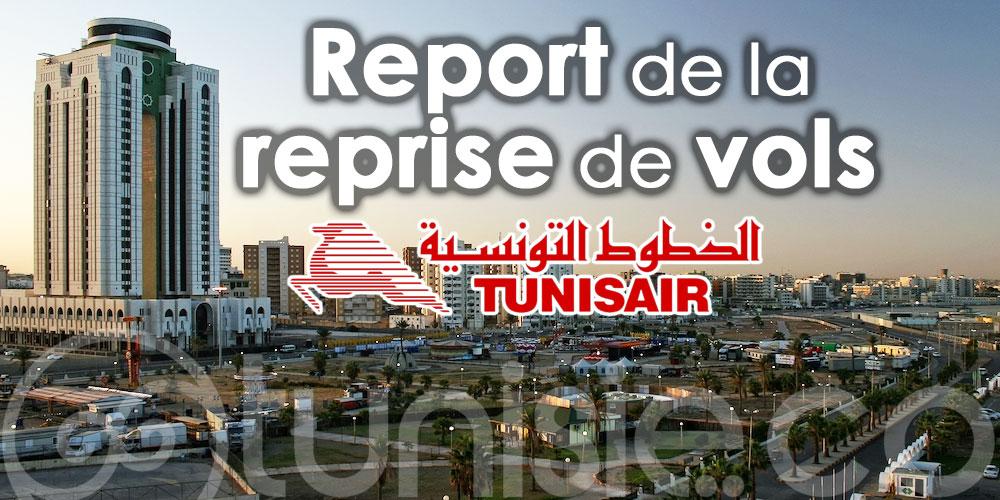 Tunisair : Report de la reprise de vols vers les aéroports libyens