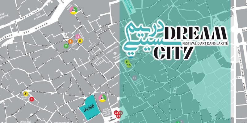 Tout sur les lieux du festival Dream City 2017