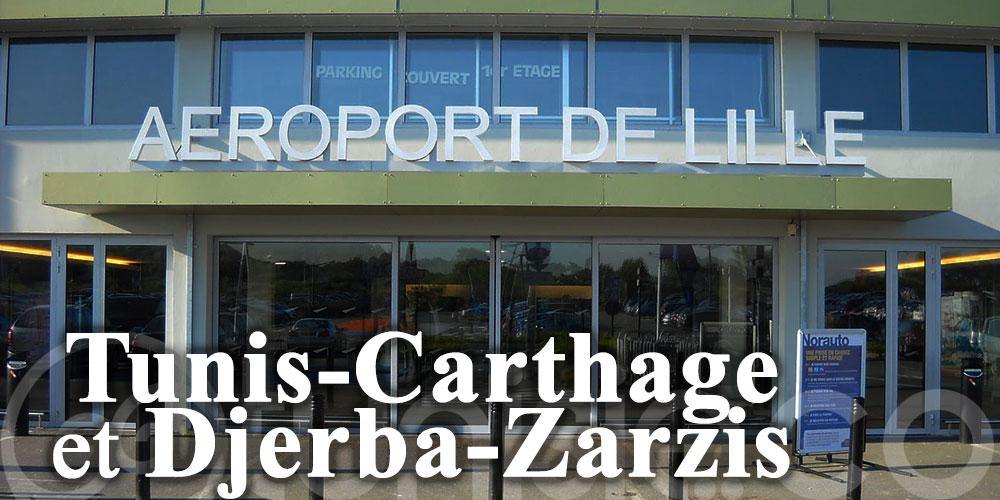 L'aéroport de Lille reconnecte Tunis-Carthage et Djerba-Zarzis