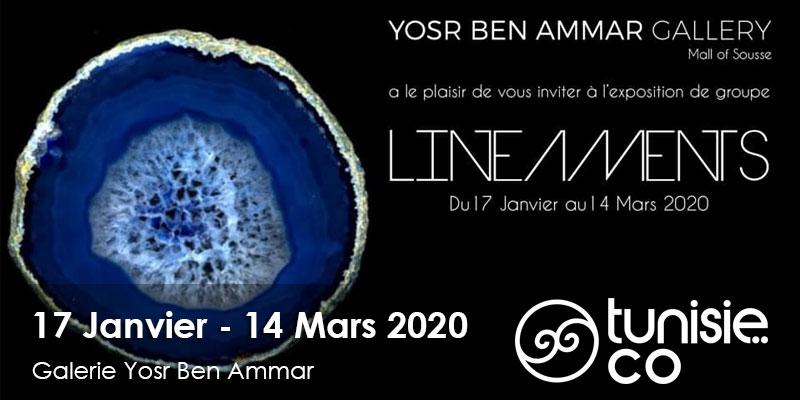 LINÉAMENTS du 17 Janvier au 14 Mars 2020