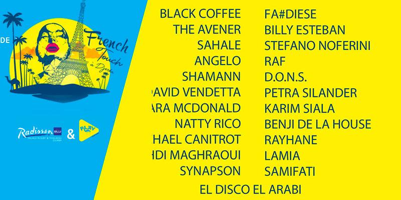 Découvrez le line-up exceptionnel de la Beach Party du Radisson Djerba