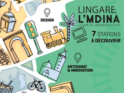 LINGARE L'mdina le nouvel espace d'innovation localisé à Bab Souika