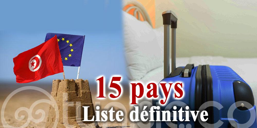 L'Union Européenne rouvre ses frontières à 15 pays, dont la Tunisie: