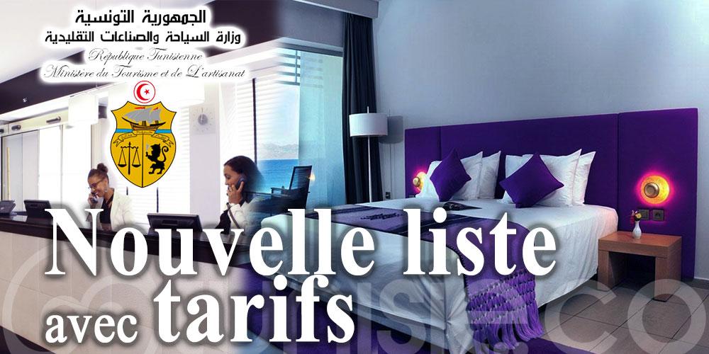 Nouvelle liste des hôtels habilités à héberger les confinés