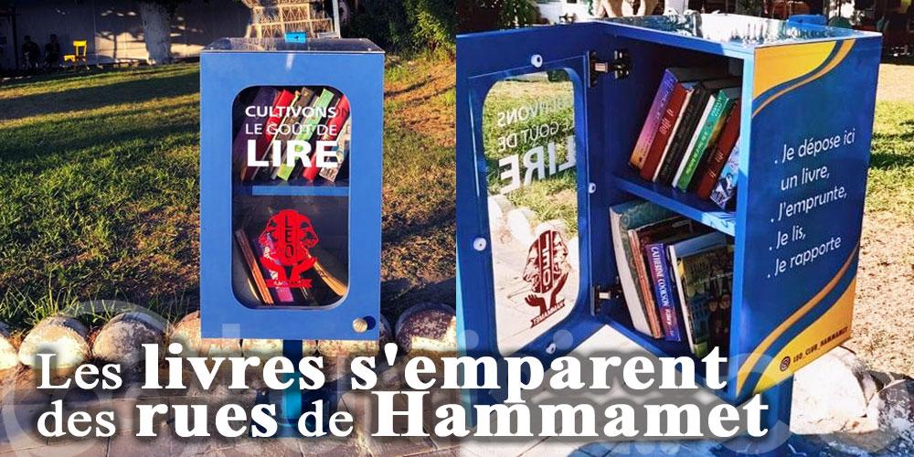 Les livres s'emparent des rues de Hammamet