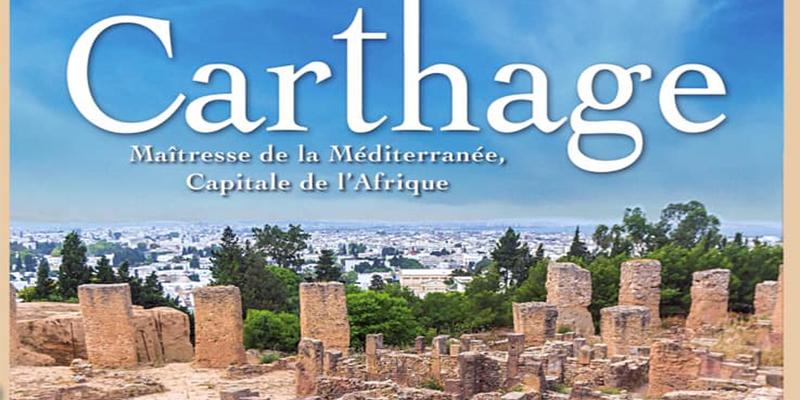 Parution du livre : Carthage Maîtresse de la Méditerranée, Capitale de l'Afrique