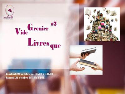 Vide Grenier Livresque '2' les 20 et 21 octobre