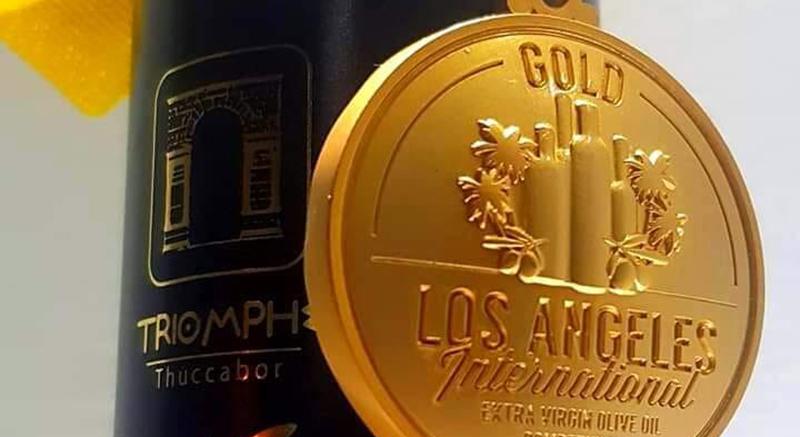 Pour la 3éme année de suite, l'huile d'olive tunisienne médaillée d'or à Los Angeles