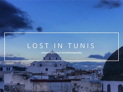LostinTunis.com ou l'exploration photographique de Tunis