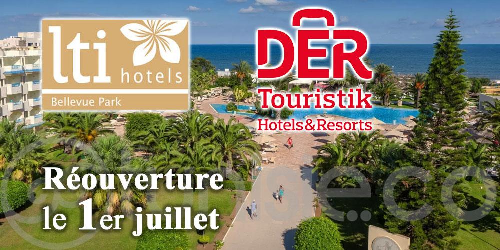 L'hôtel Lti Bellevue Park rouvre le 1er juillet avec un protocole sanitaire renforcé et la certification internationale Cristal