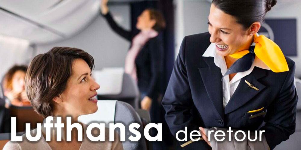 Lufthansa de retour en Tunisie ce 9 juillet