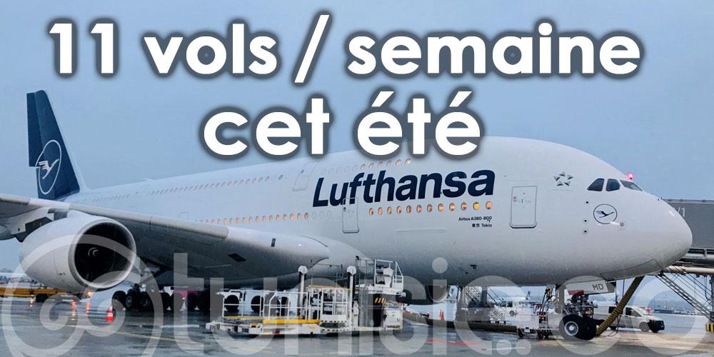 Lufthansa croit en la reprise de la Tunisie avec 11 vols par semaine cet été