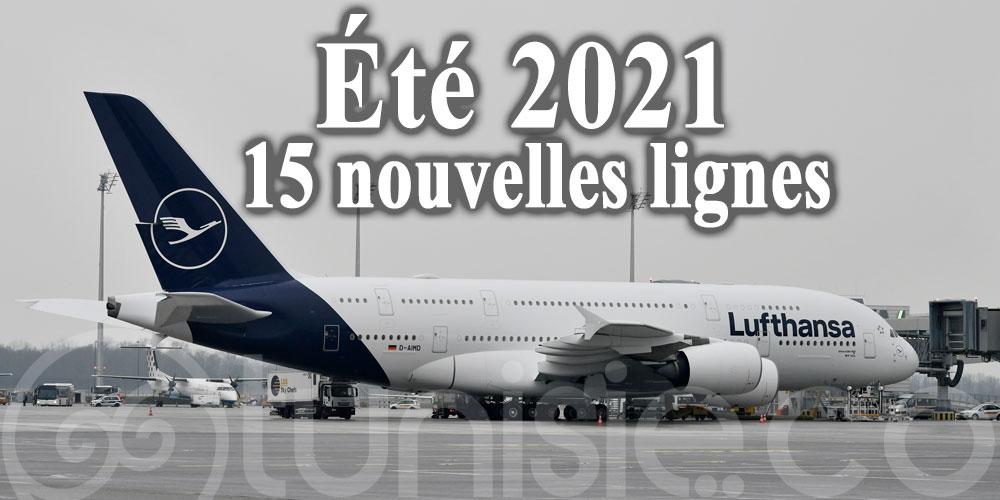 Lufthansa renforce son offre de vols: 15 nouvelles lignes
