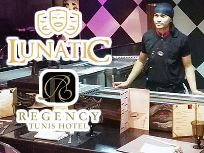 En photos : Le nouveau restaurant-Lounge japonais LUNATIC à l'hôtel Regency