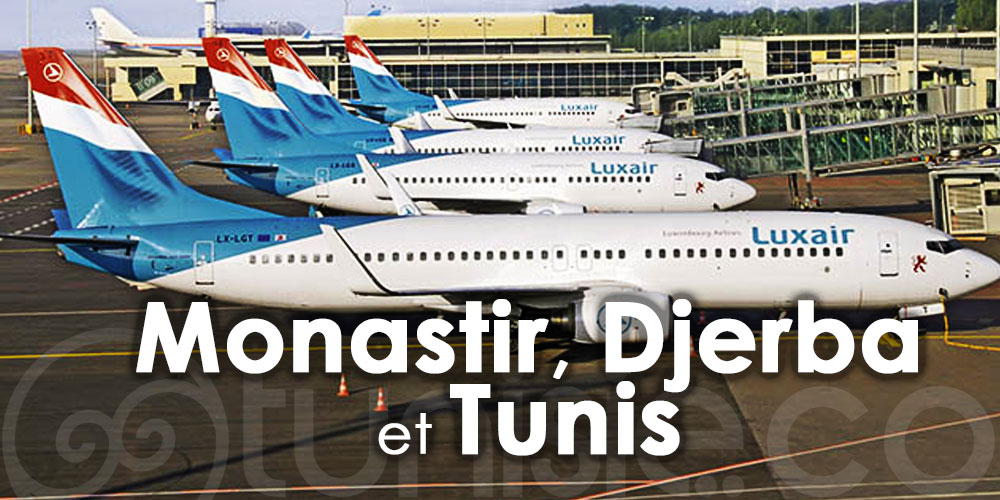 LUXAIR renforce ses vols cet été pour la destination Tunisie