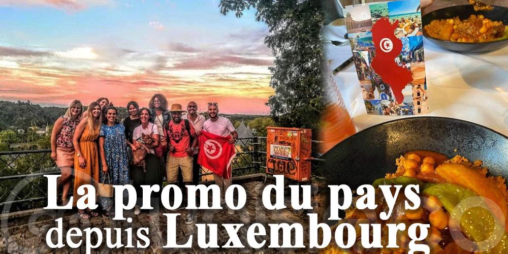 La promo du pays depuis le Luxembourg