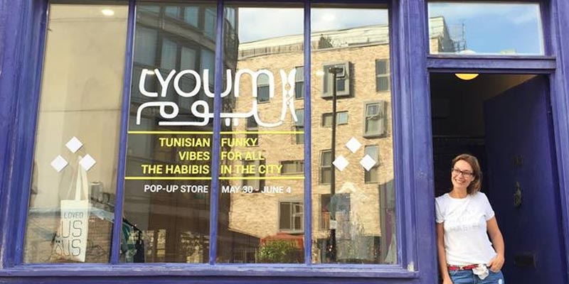LYOUM s'invite dans un pop-up store à Londres