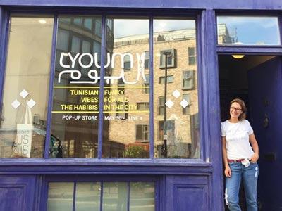 LYOUM s'invite dans un pop-up store à Londres