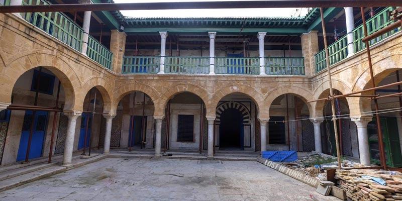 En Photos : Un bijou tombé dans l'oubli La Médersa Mouradia