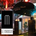 En photos: redécouvrez le restaurant lounge Le Madison de l'hôtel La Maison Blanche