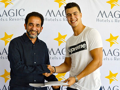 Magic Hotels parraine le sportif Mohamed Islem Bouglia